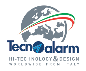 logo Tecnoalarm - hi-technology & design
